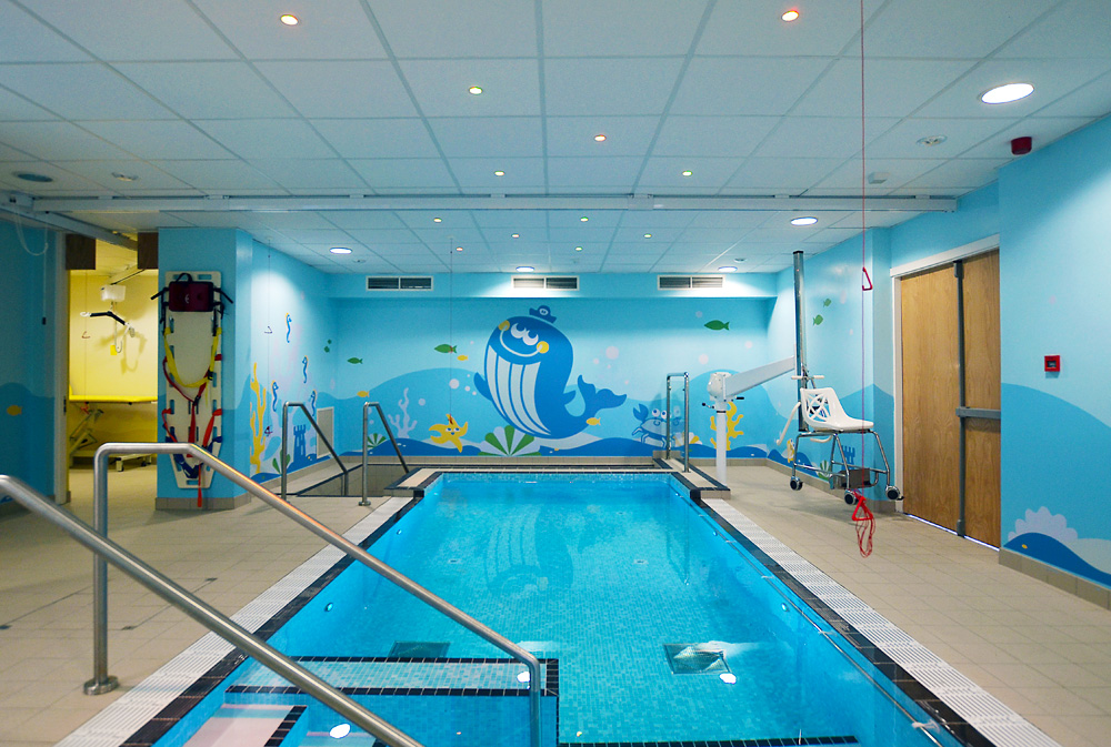 Sheffield children s hospital ryegate centre hydrotherapy for Room design ecclesfield